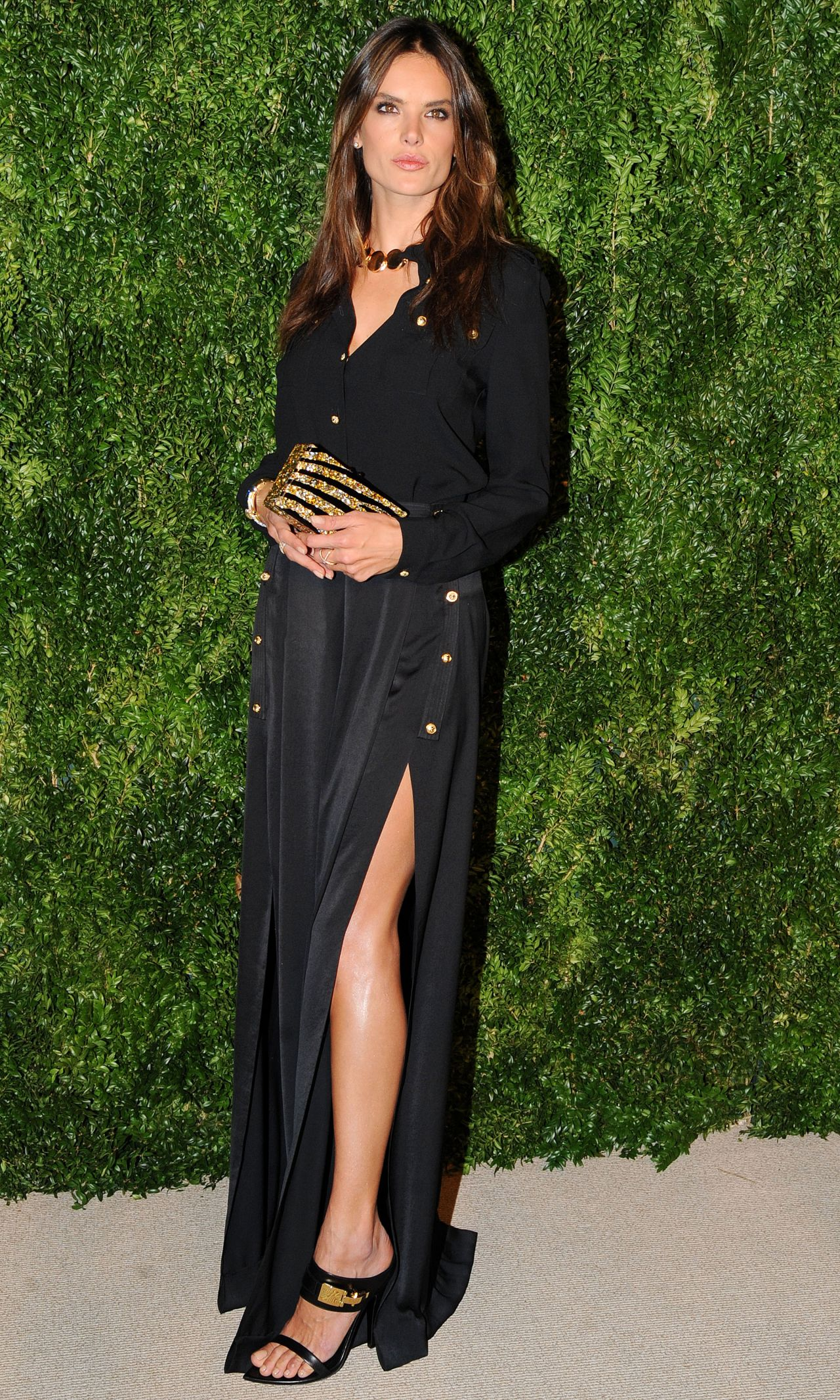 Alessandra ambrosio in new york posh point alessandra ambrosio 2014 cfda vogue fashion fund awards thecheapjerseys Image collections